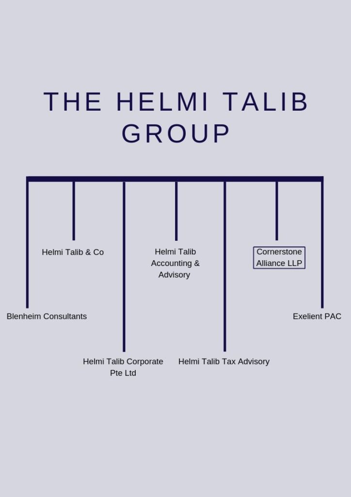 Diagram of company group structure (6)